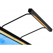 BLP Tavelbelysning BLP Belysning 117 för rambredd 65-90 cm - Svart
