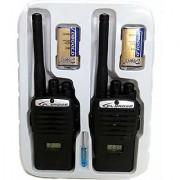 Jojoss Portable Walkies Talkie (Set of 2) with 9V Battery
