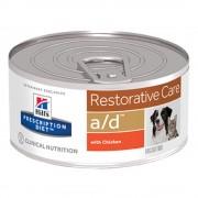 12 x 156 g Hill´s Prescription Diet a/d Restorative Care nedvestáp kutyáknak & macskáknak lábadozásra, gyógyulásra