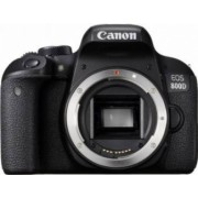 Aparat Foto DSLR Canon EOS 800D 24.2MP WiFi Body Negru