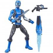 Power Rangers Azul Hasbro 6 Pulgadas con Accesorios (F)(L)