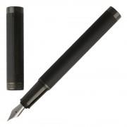 Boss Füllhalter Füller Hugo Boss Column HSG7882A Black Füllfederhalter Fountain Pen
