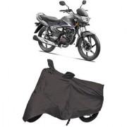 De Autocare Premium Quality Grey Matty Two Wheeler Bike Body Cover For Honda CB Shine 125