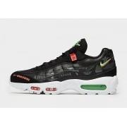 Nike Air Max 95 Heren - Black/Green Strike/Flash Crimson/White/White/Red - Heren