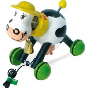 Vilac Pull Toy, Rosy The Cow