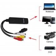 EH Capturadora de Video TV S-Video Dispositivo Convertidor de VHS