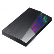 Hard disk extern 2TB Asus FX USB 3.1 Gen1, Aura Sync RGB, EHD-A2T
