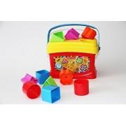 Fisher Price Babys First Blocks Brilliant Basics Plastic Toy Birthday Gift 1set
