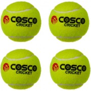 COSCO Light Weight Cricket Tennis Ball Set of 4 PC