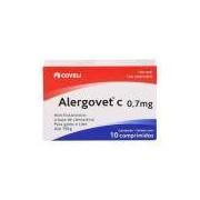Anti-inflamatório Alergocort Coveli 0,7mg C/ 10 Comprimidos