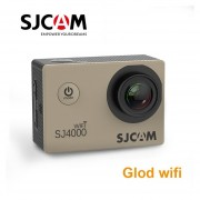 Original SJCAM SJ4000 Wifi Cámara de Acción deportes DV 2,0 pulgadas buceo 30M impermeable HD 1080P casco extremo videocámara(#with wifi)(# Opción4)