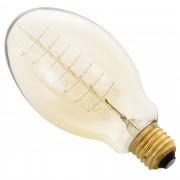 Античен декор крушка [in.tec]® Edison, ø75mm x В140mm, 40Watt