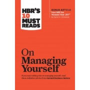 """HBR's 10 Must Reads on Managing Yourself (with Bonus Article """"How Will You Measure Your Life?"""" by Clayton M. Christensen), Paperback"""