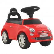 """Sonata Детска кола за яздене """"Fiat 500"""" червена"""
