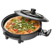 Tigaie electrica Clatronic PP 3402, 36 cm, 1500 W (Negru)