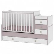 LORELLI krevetić maxi plus 70/160 white cappuccino (62) 10150300025