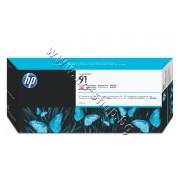 Мастило HP 91, Light Magenta (775 ml), p/n C9471A - Оригинален HP консуматив - касета с мастило