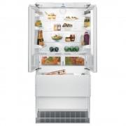 Combina frigorifica incorporabila ECBN 6256, 471 L, NoFrost, Clasa A++, H 203 cm