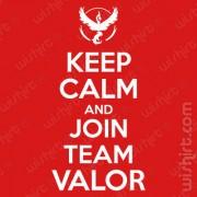 T-shirt Keep Calm Join Valor