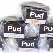 CP1GFDF Gluten Free Traditional Plum Pudding 100g Cellophane Wra