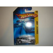 2006 Hot Wheels First Editions Corvette C6R Silver With Y5 Wheel Variant #025/223