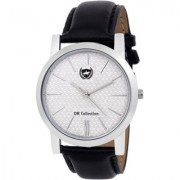 OM Collection Mens/Boys Analog Silver Case white Dail slim Dial Men's Watch-omwt58