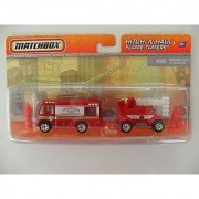 Matchbox Hitch N' Haul Flame Tamers (WildFire Unit Mobile Command Center)