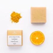 Sapun natural cu turmeric si portocale Trio Verde 110gr