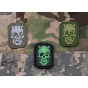 MSM Patch MSM PVC - MM Devil Skull (Färg: Desert)