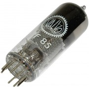 Tub electronic pentodă EF 85 = 6 BY 7 250 V 10 mA 9 pini soclu noval