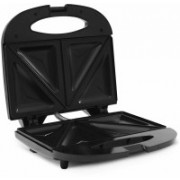 Wonder World ™ 750W Grill & Toast Sandwich Maker (Silver, 3.5-inch) Toast(Black)