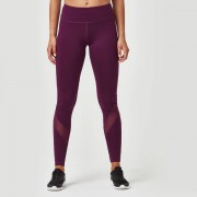 Myprotein Heartbeat Full-Length Leggings - S - Plum