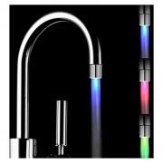EH Magical 3 Sensor De Color De Luz LED RGB Sensor De Temperatura De Agua Del Grifo -Plata