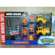 Set Građevinski Kamion sa Signalizacijom (115298)