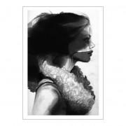 Anna Bülow-Face 2 Poster 50x70cm
