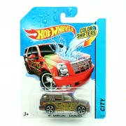 07 CADILLAC ESCALADE * COLOR SHIFTERS * 2014 Hot Wheels City Series 1:64 Scale Vehicle #30/48