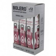 Bolero Pack de 12 Drinks Sticks Uva Vermelha 36 g
