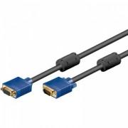 Cablu prelungitor VGA tata - VGA mama 10m, Goobay