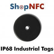 Tag NFC industriali IP68 Ntag213 schermati 22mm