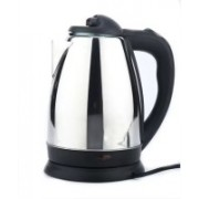 Lagom Cordless Stainless Steel Tea Heater with Auto Shut Off & Boil Dry Protection Electric Kettle Electric Kettle(1.8 L, Silver)