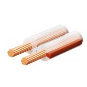 Hangszóróvezeték, transzparent, 2x1 mm, 100 m/tekercs