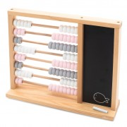 Jollein Toy Abacus Grey and Pink