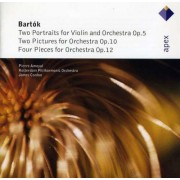 B Bartok - 4 Pieces For Orchestra (0809274899125) (1 CD)