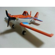 Pixar Cars Diecast No.7 Dusty Crophopper Metal Toy Plane