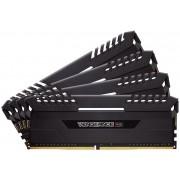 Corsair Vengeance RGB 32GB (4 x 8GB) DDR4-3466 C16 Desktop Memory Module with Black Vengeance LED Heatspreader