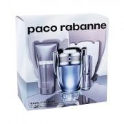 Paco Rabanne Invictus confezione regalo eau de toilette 100 ml + eau de toilette 10 ml + doccia gel 75 ml uomo