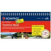Fietsgids Rennradführer Trentino 01: Trentino Nord - Dolomieten   Kompass