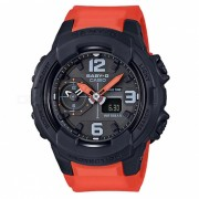 reloj digital analogico estandar casio baby-g BGA-230-4B - naranja