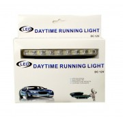 Denné svietenie do auta 2x8 LED