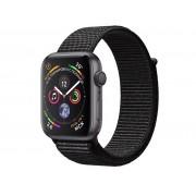 Умные часы APPLE Watch Series 4 44mm Space Grey Aluminium Case with Black Sport Loop MU6E2RU/A